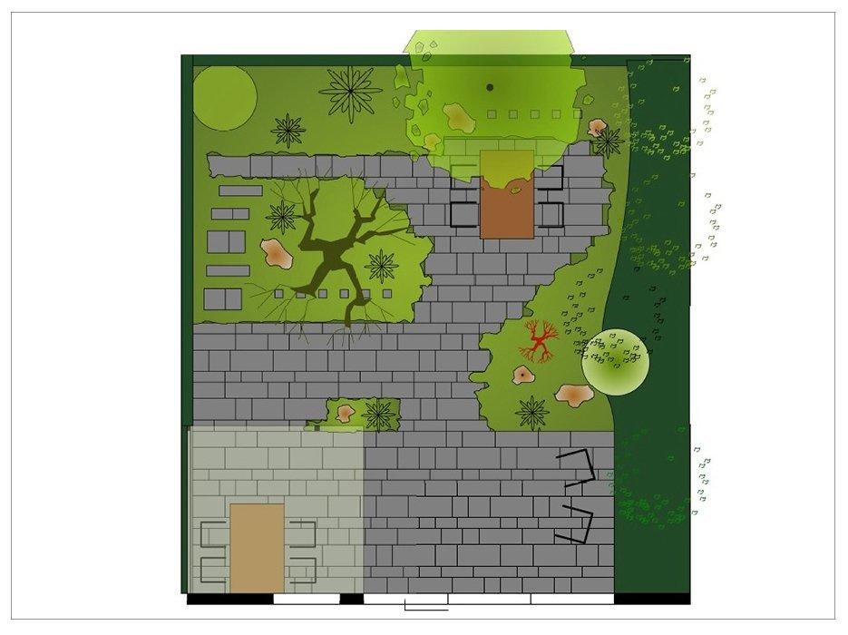Onze tuinontwerpen van jaarsveld tuinen - Kleine designtuin ...