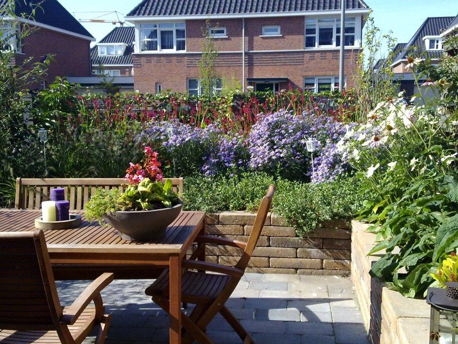 vaste planten voor kleine tuin potplanten buiten schaduw