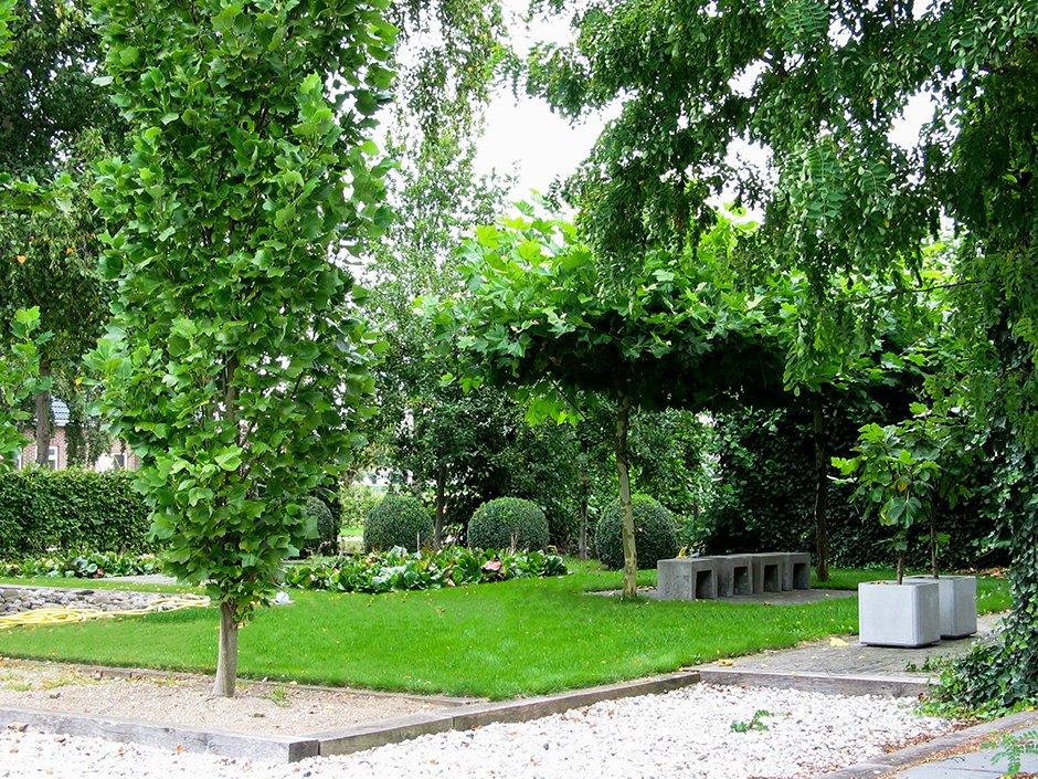 Landelijke Tuin Met Strakke Vlakverdeling Van Jaarsveld Tuinen