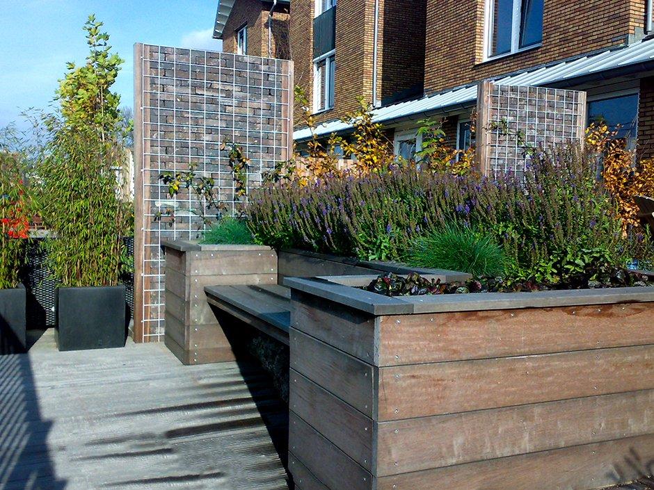 Kleine stadstuinen regio utrecht van jaarsveld tuinen for Kleine stadstuin voorbeelden