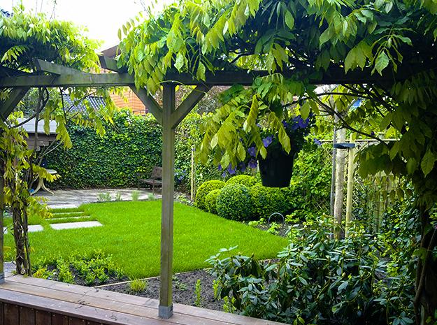 Aanleggen tuin hilversum rvs tuinen bussum